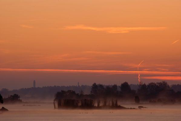 Morgendunst auf der Ostsee