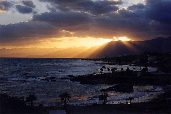 Morgenerwachen auf Kreta