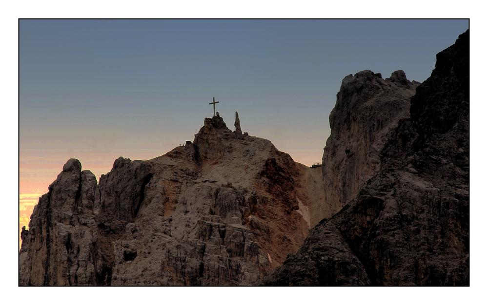 Morgenerwachen über den Christalino