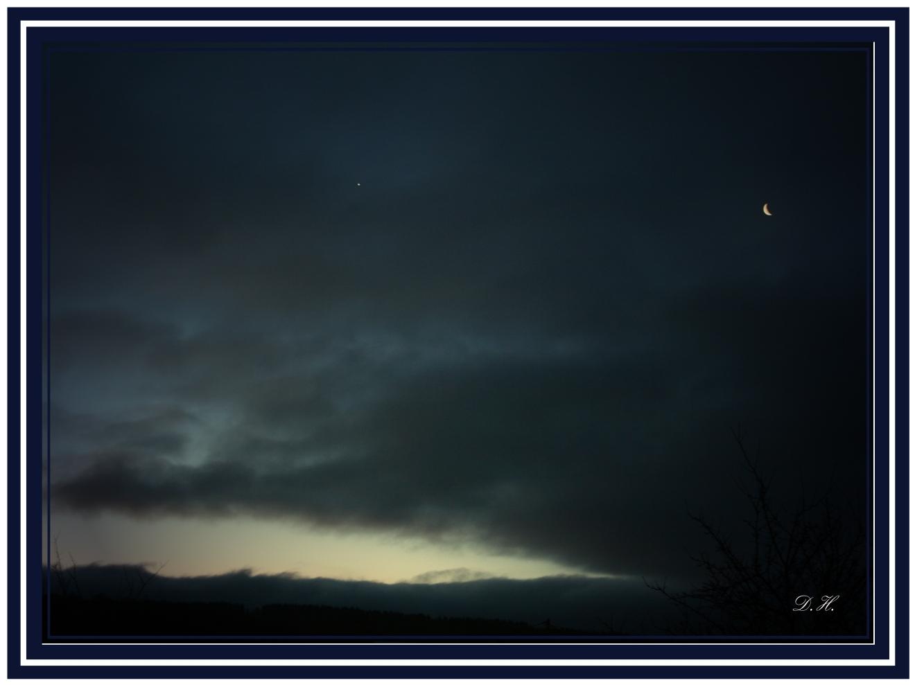Morgengrauen über Rosenheim/ Ww