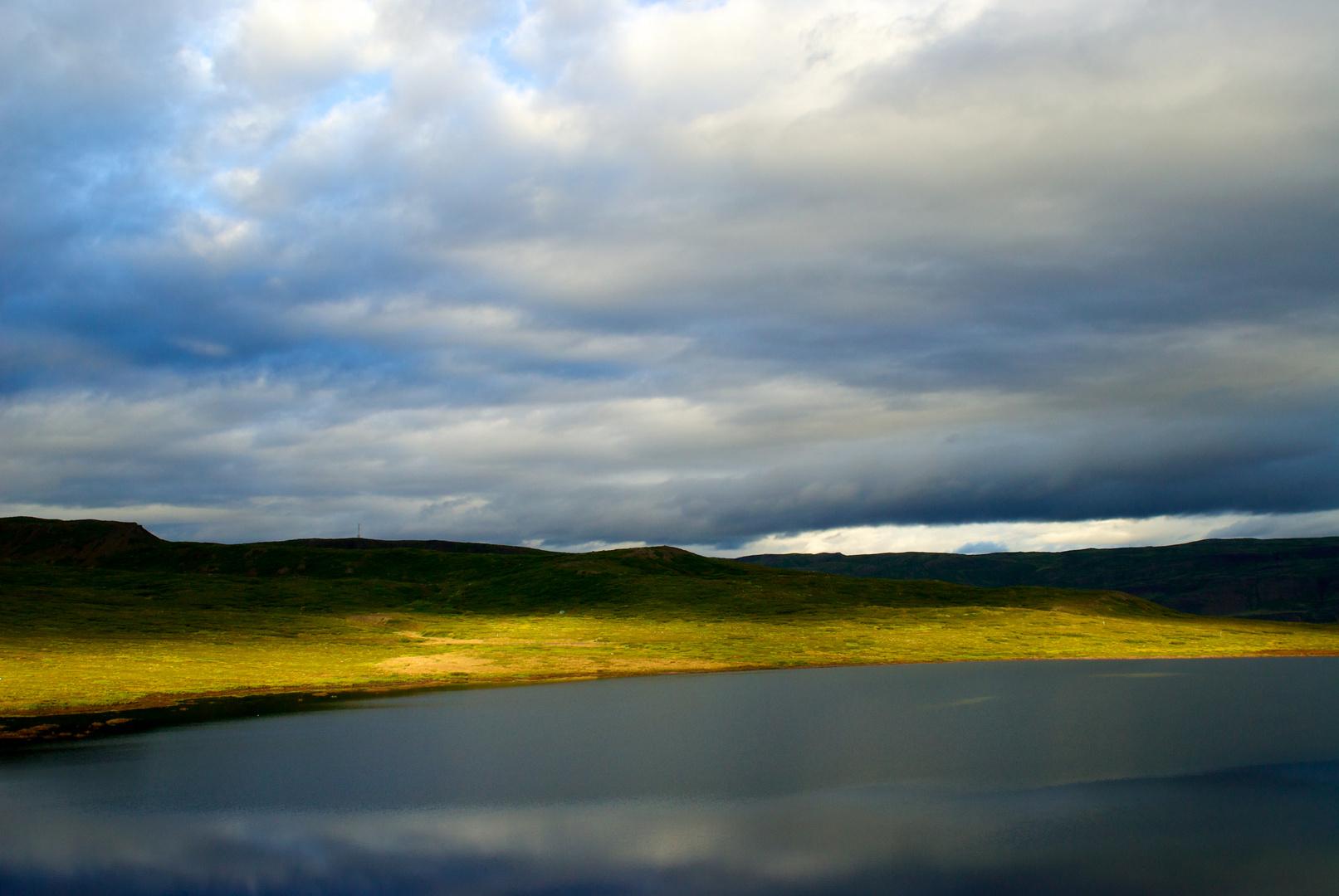 Morgenhimmel, Island