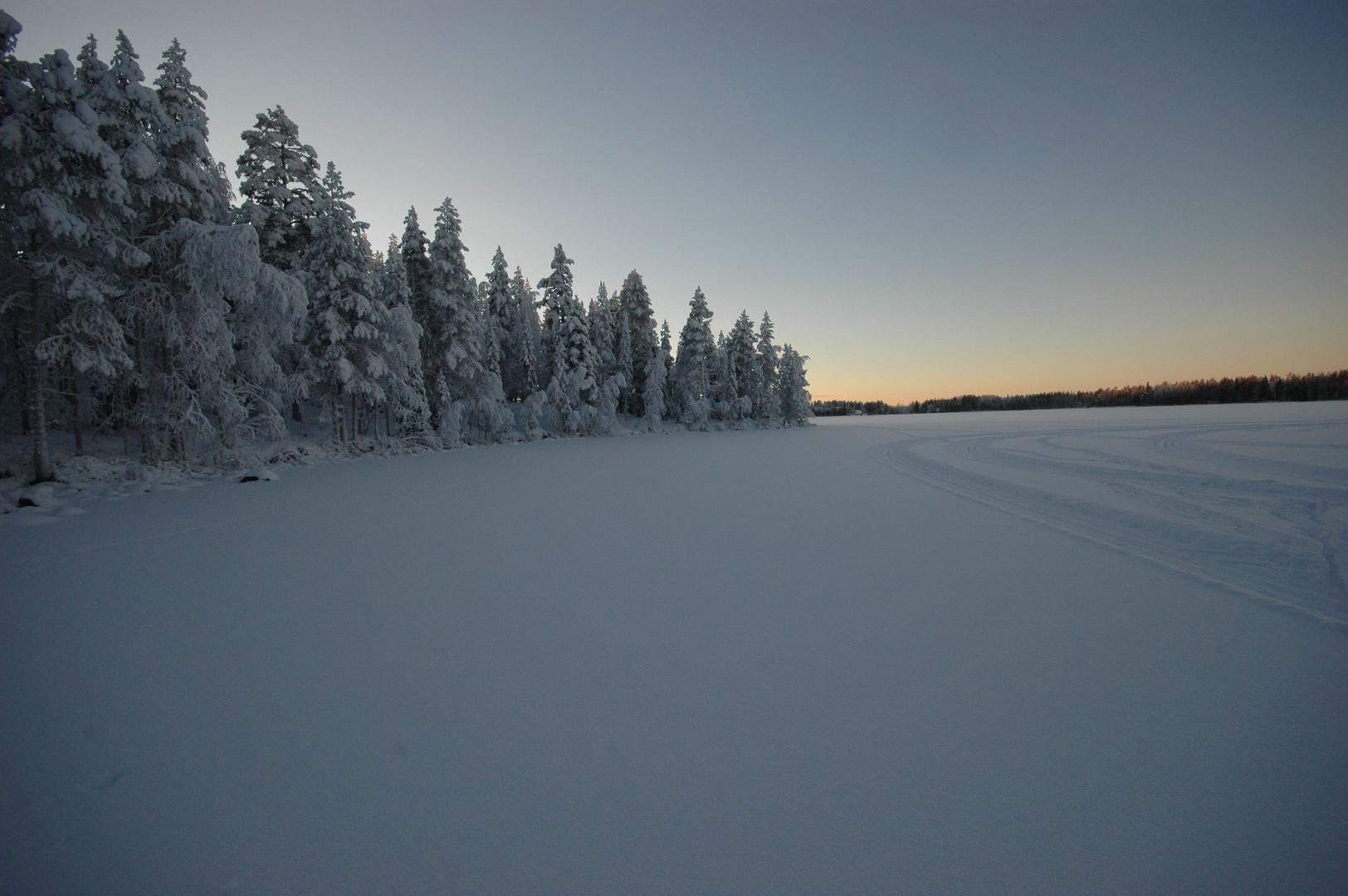 Morgenlicht am Polarkreis