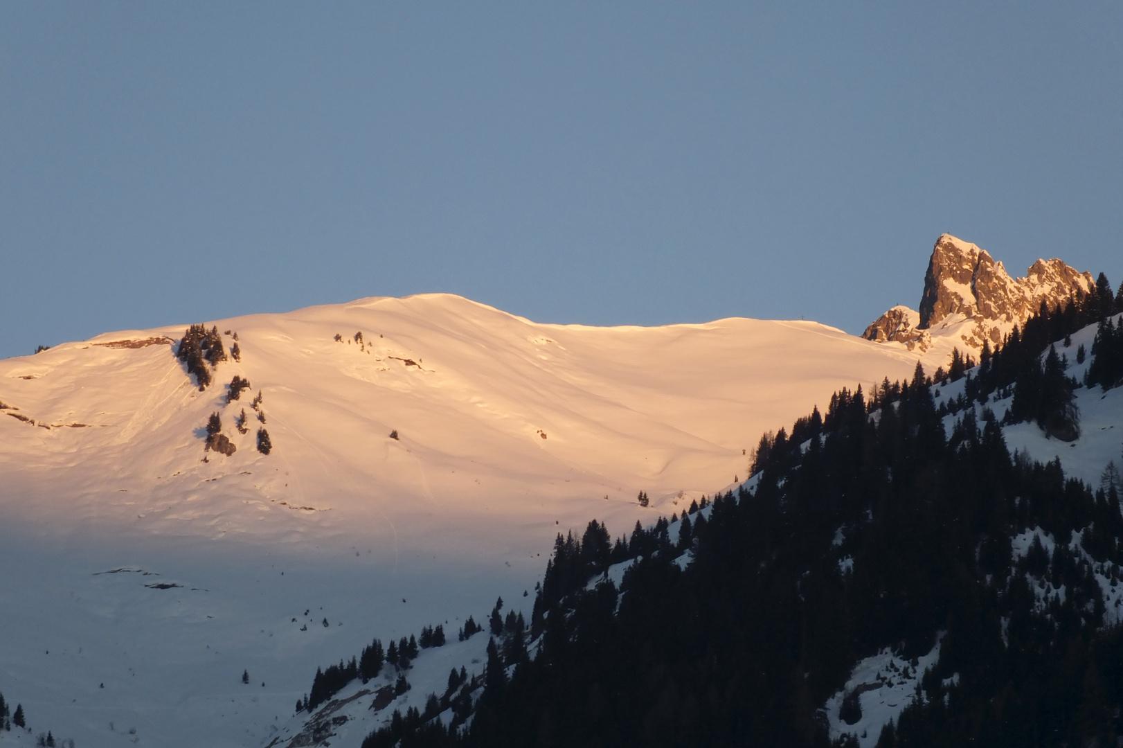Morgenlicht in Grossarl