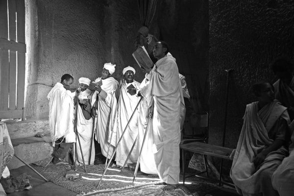 Morgenmesse in Lalibela 2