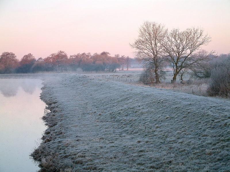 Morgennebel am Aper Tief