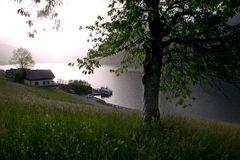 Morgennebel am Grundlsee