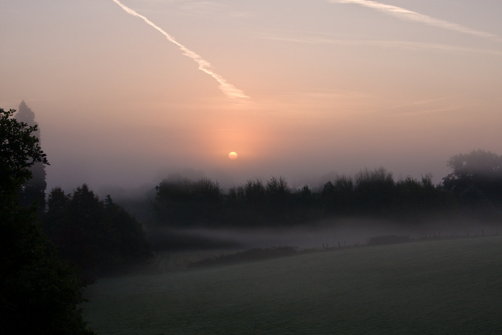 Morgennebel in England