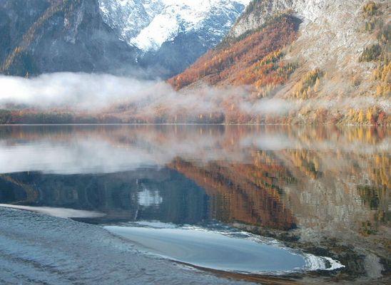 Morgennebel über dem Königssee