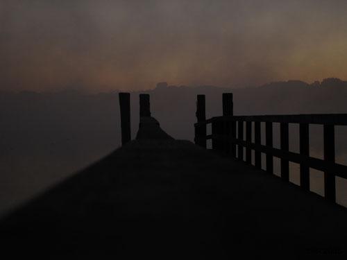 Morgennebel über der Havel 3