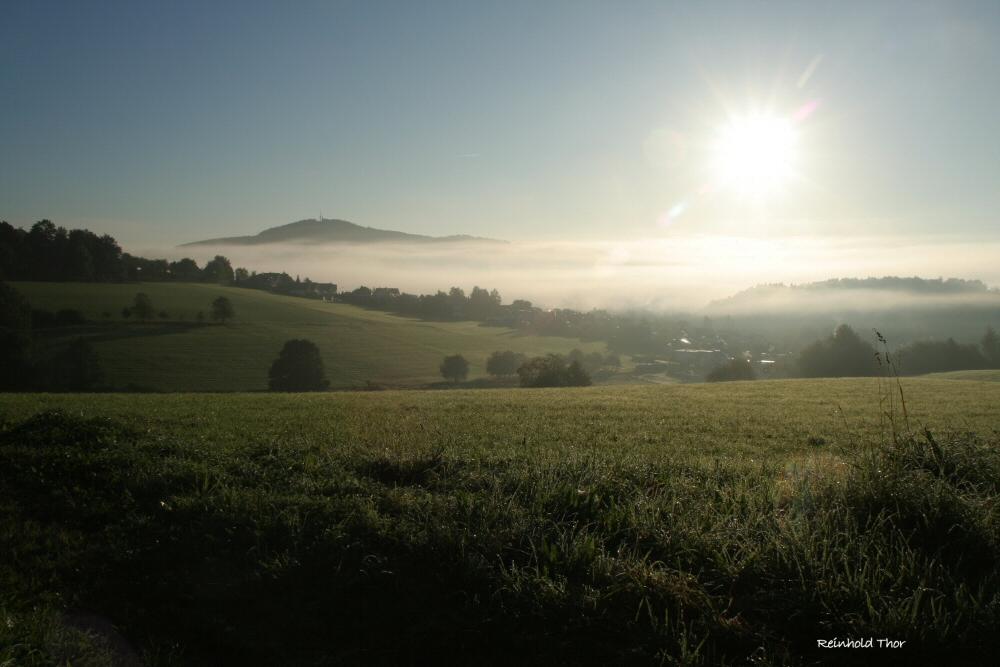 Morgennebel unterm Kindelsberg