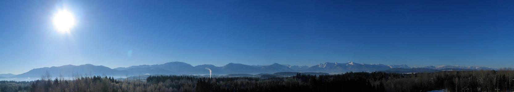 Morgenpanorama -24°C