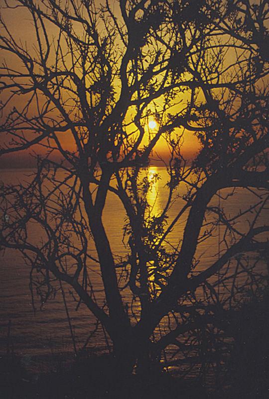 Morgenröte II -über-dem-Golf-von-Termini-Imerese
