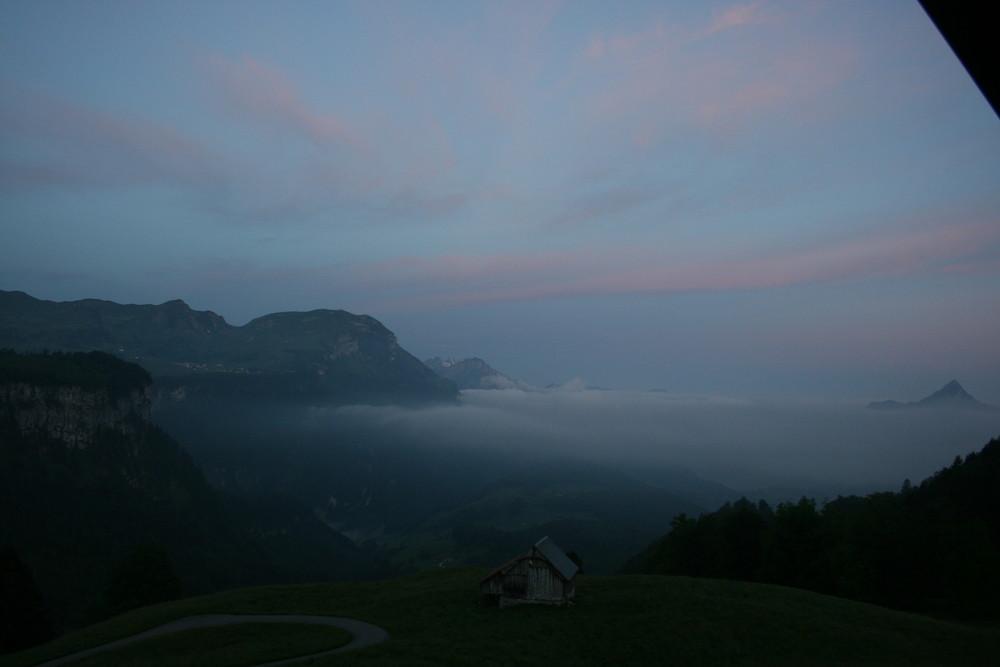 Morgens 5 Uhr in Schwyz