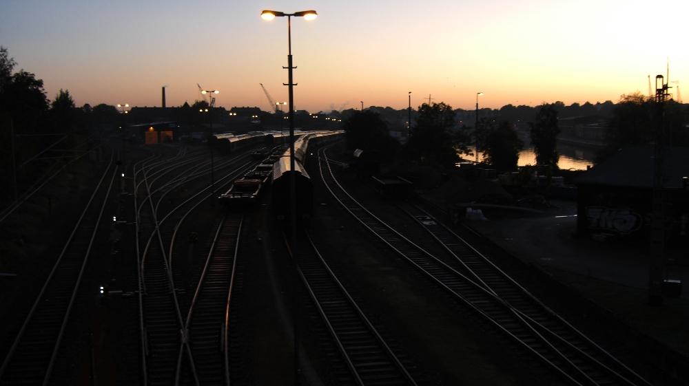 Morgens 6 Uhr in Lübeck