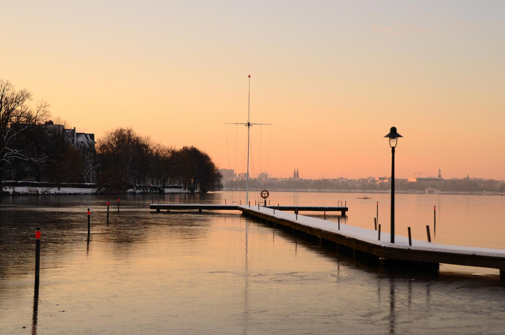 """Morgen""""s 7 Uhr in Hamburg"""