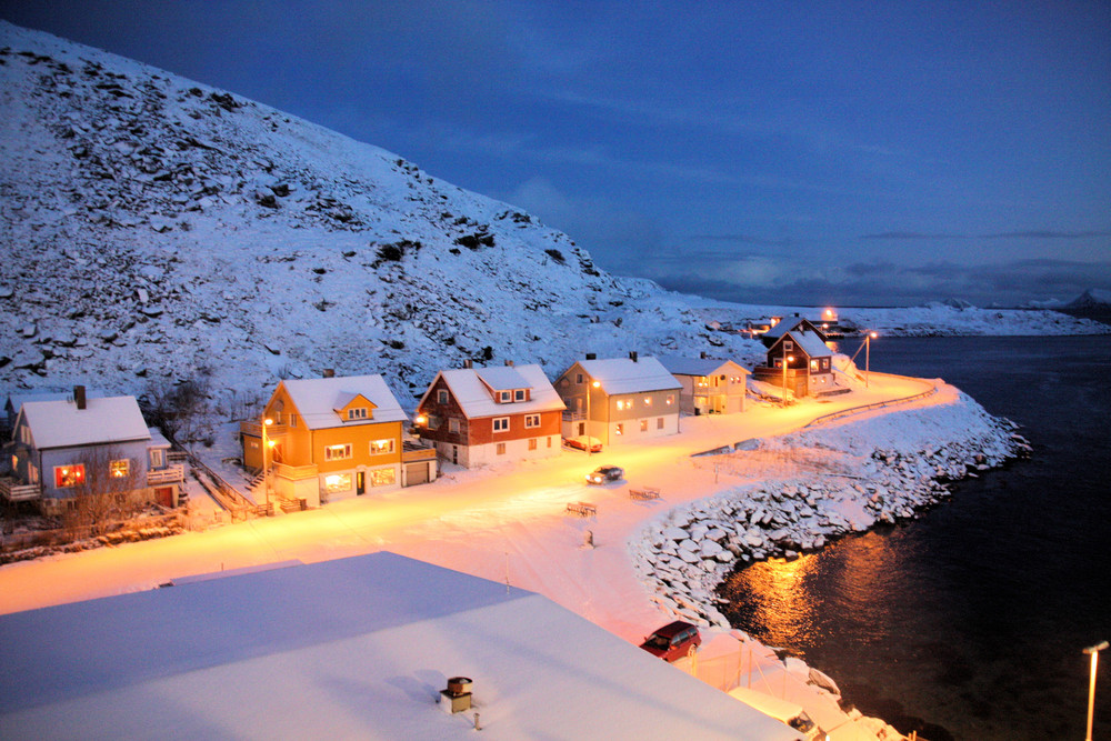 Morgens 9:30 in Norwegen