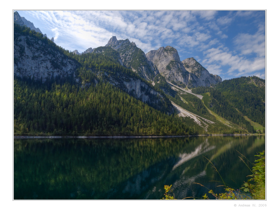 Morgens am Bergsee