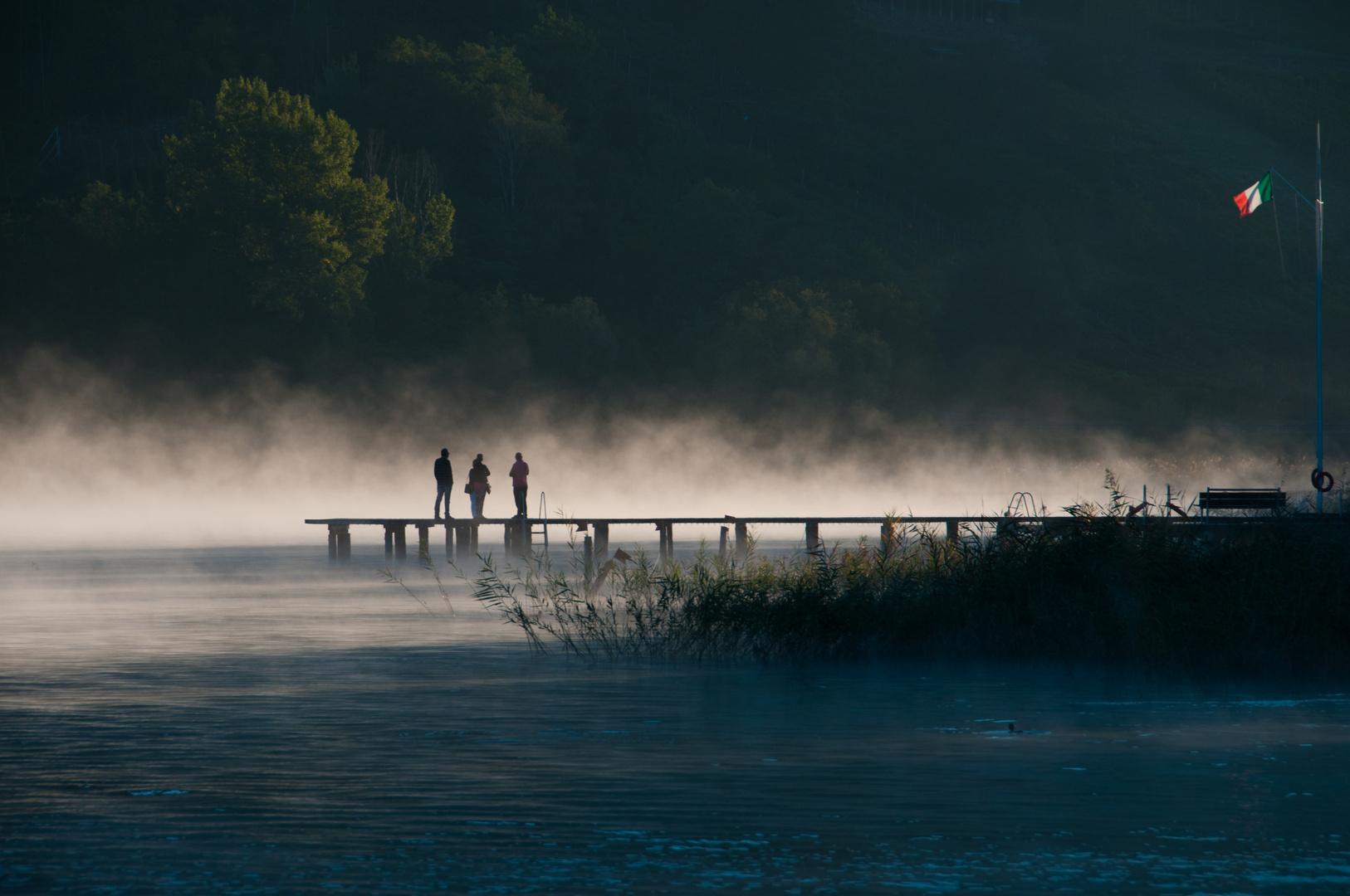 morgens am Caldonazzo See