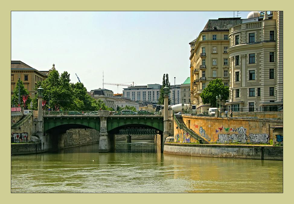 morgens am Donaukanal