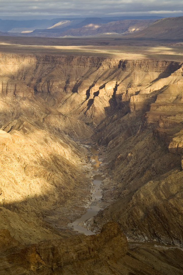 Morgens am Fish River Canyon