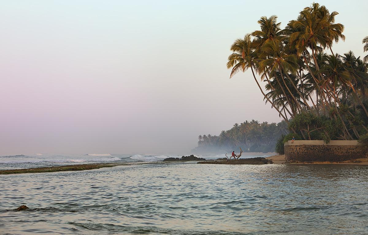 Morgens am Indischen Ozean