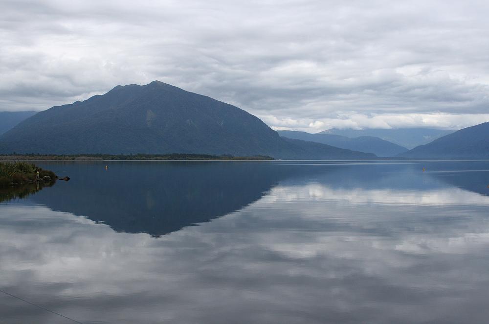 Morgens am Lake Brunner NZ