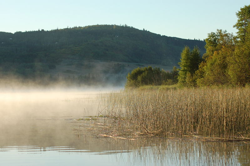 morgens am Lake Tyhee