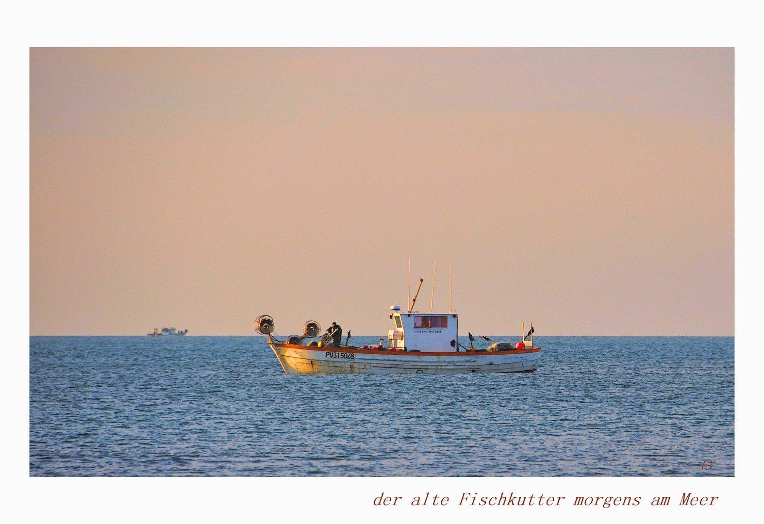 morgens am Meer....