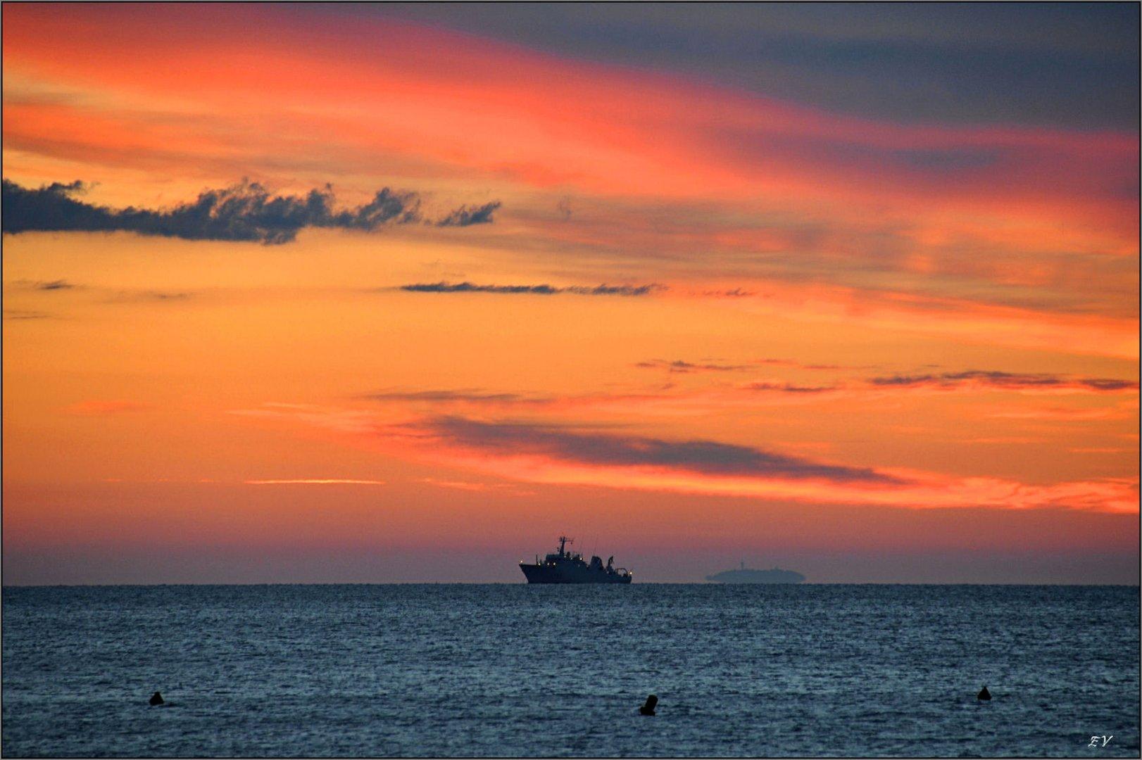 Morgens am Meer...