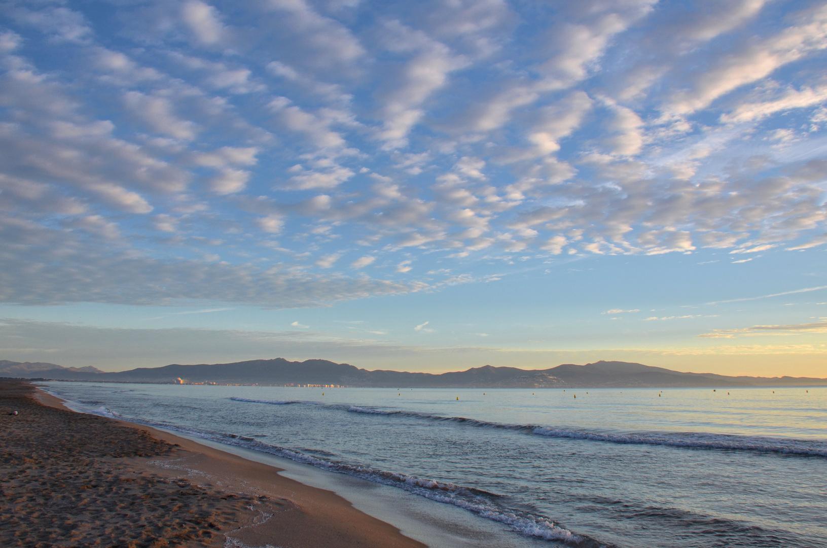 morgens am Meer,