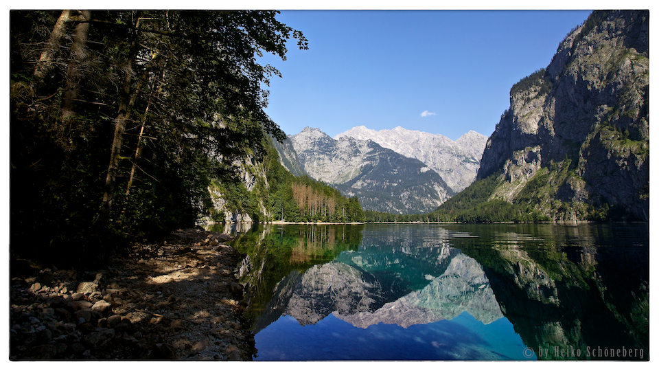 Morgens am Obersee...