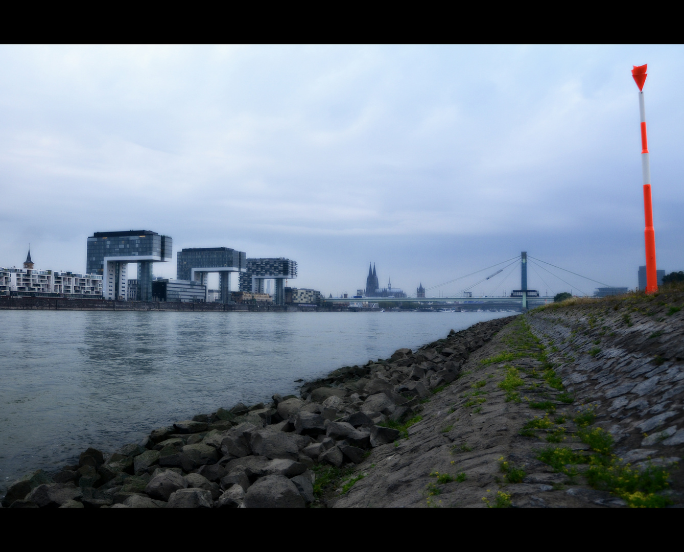 Morgens am Rhein 2