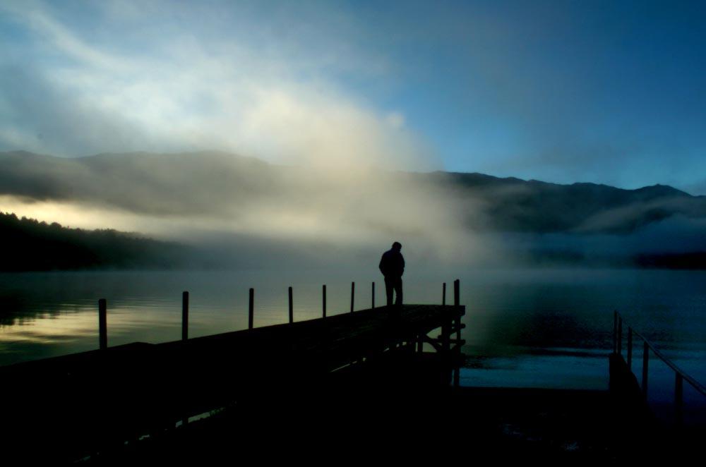 Morgens am See von Susanna Dropschl