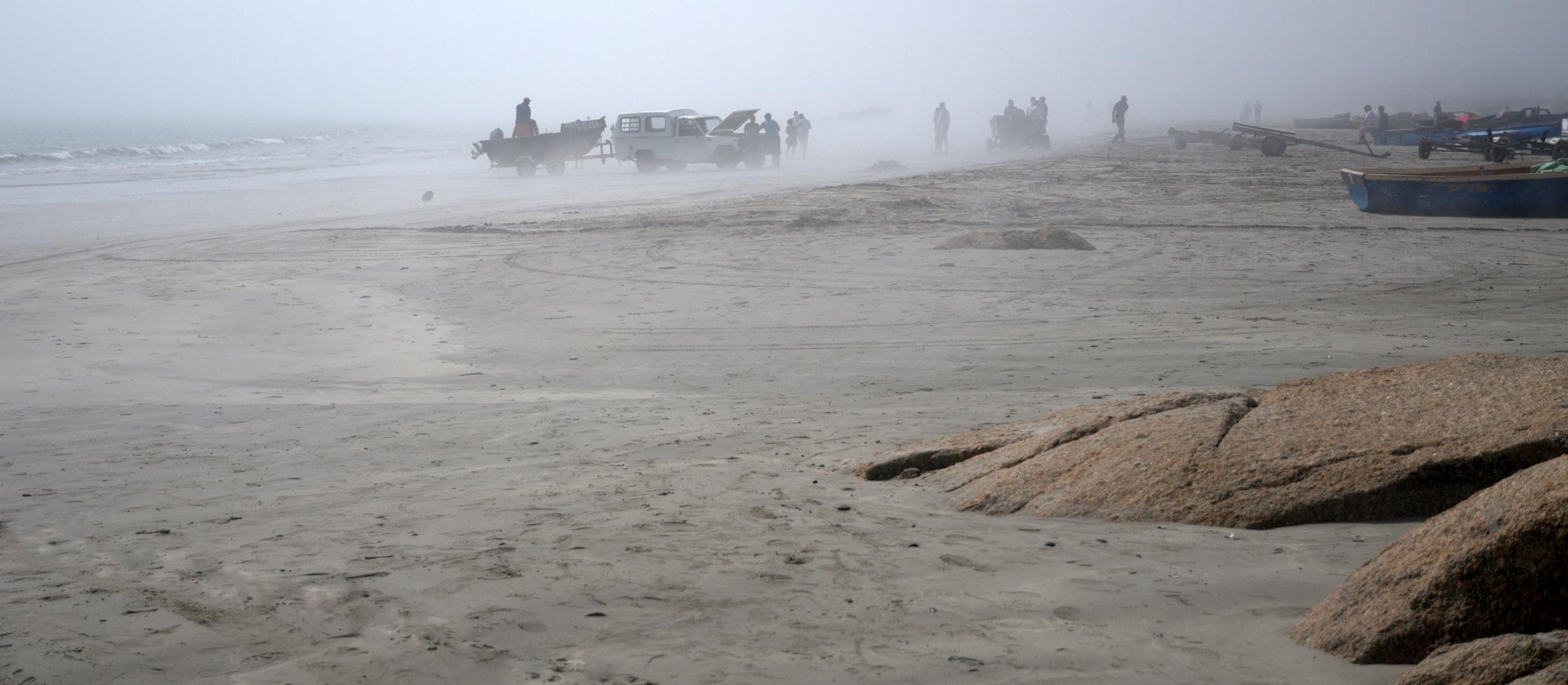 Morgens am Strand von Paternoster