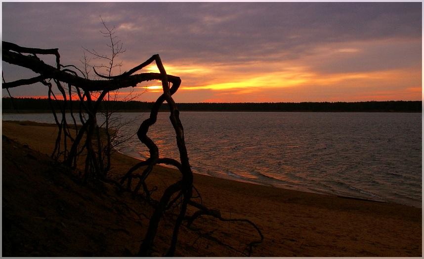 Morgens an der kleinen Ostsee