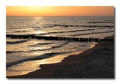 Morgens an der Ostsee