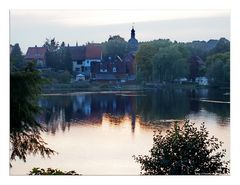 Morgens an der Weser