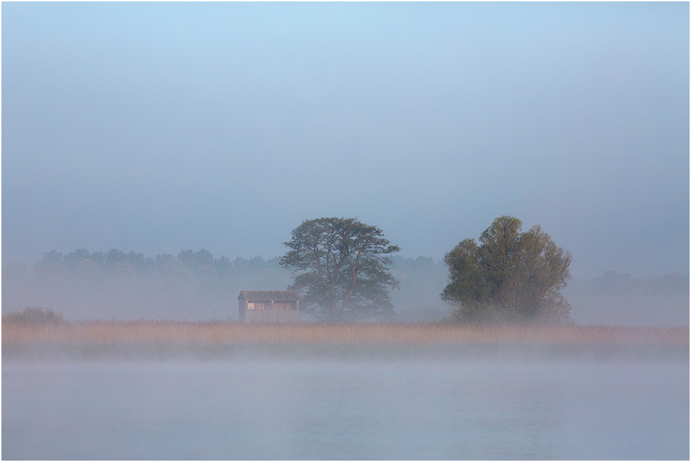 Morgens auf dem See..