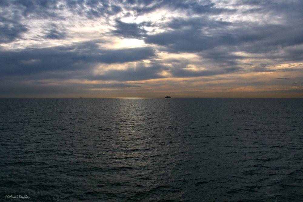 Morgens auf der Nordsee