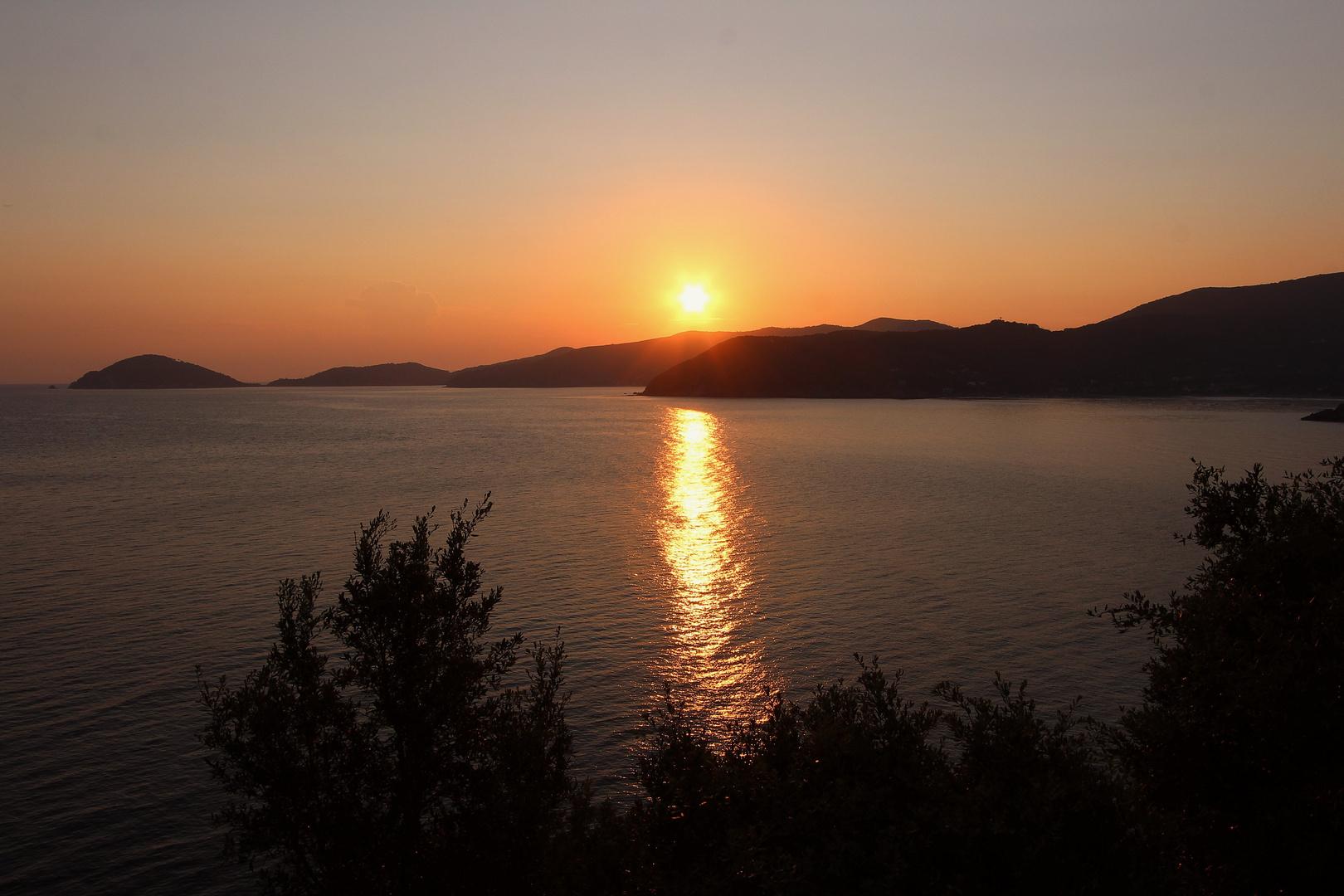 Morgens auf Elba