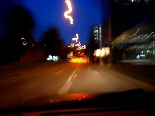 Morgens durch die Stadt
