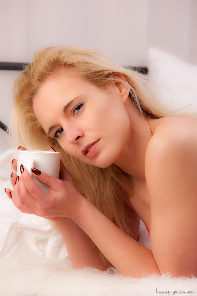 Morgens erstmal Kaffee ... und dann DICH!