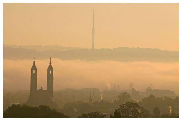 Morgens halb acht in Dresden