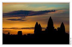 Morgens, halb sechs in Kambodscha.