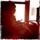 Morgens im Bus