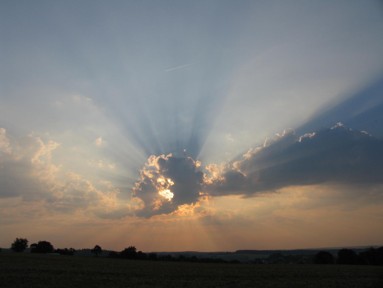 Morgens im Odenwald.....