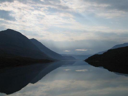 Morgens im schottischen Glen II