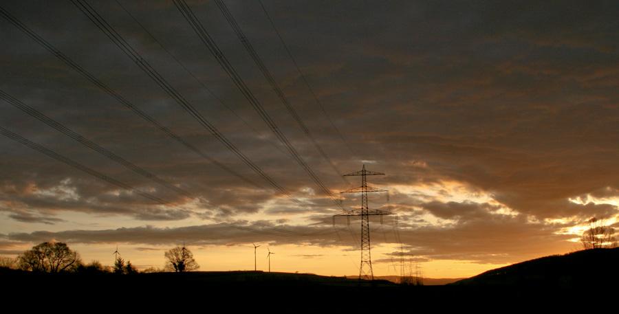 Morgens im Weserbergland