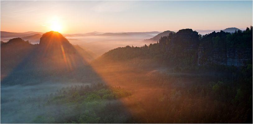 Morgens im Zschand