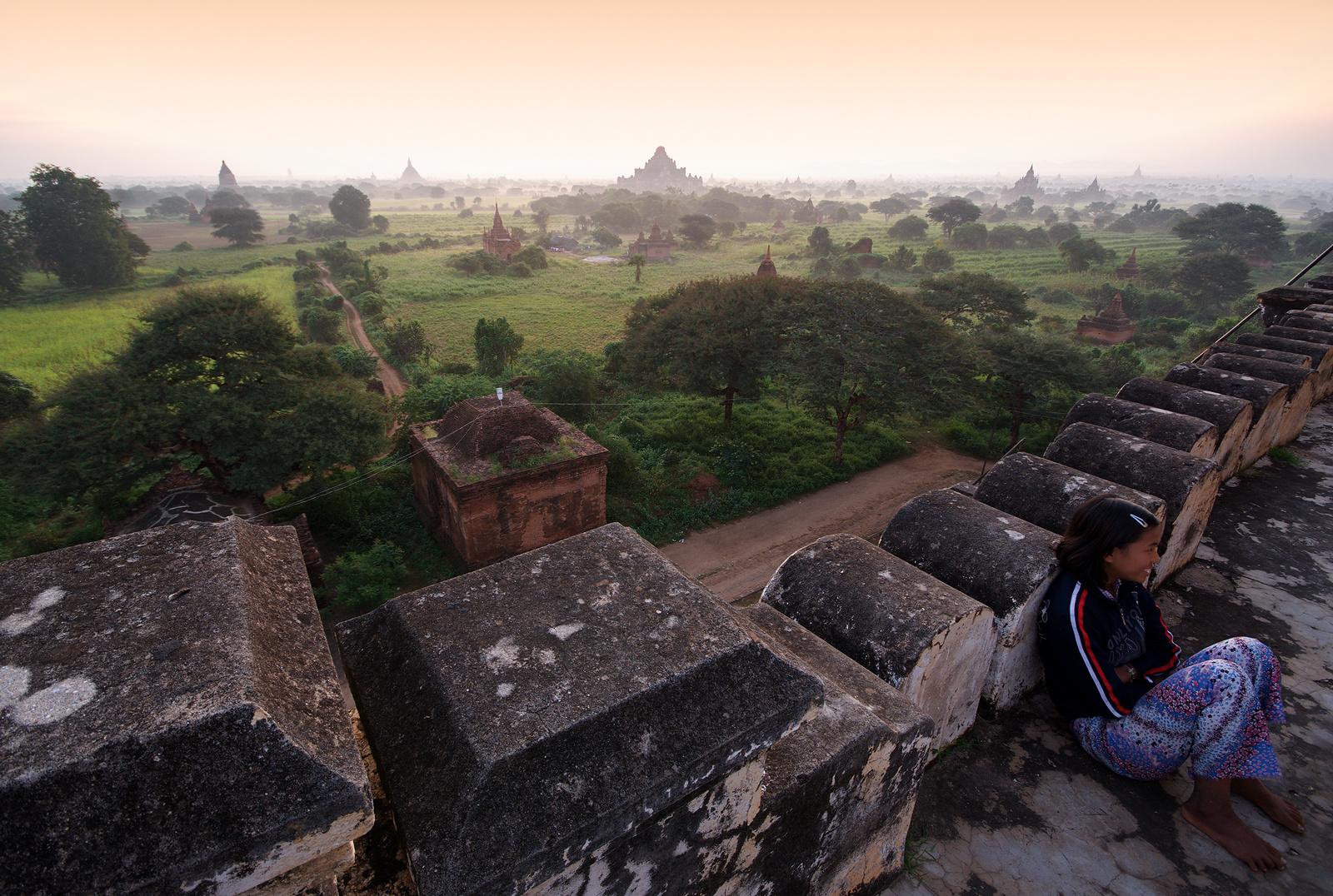 Morgens in Bagan